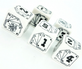 Savage Worlds & Deadlands RPG- Wild Dice Set D6s